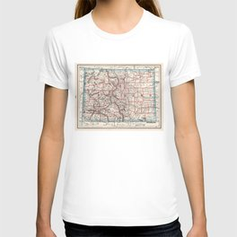 Colorado Counties Map (1893) T-shirt