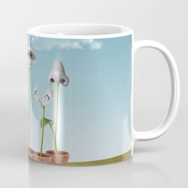 The 5 Senses Coffee Mug
