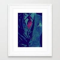 gentleman Framed Art Prints featuring Gentleman by Giuseppe Cristiano