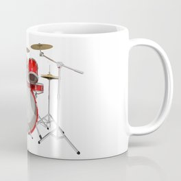 Red Drum Kit Coffee Mug