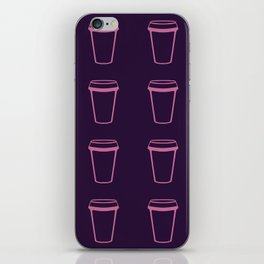 Its Always Coffee O'Clock iPhone Skin