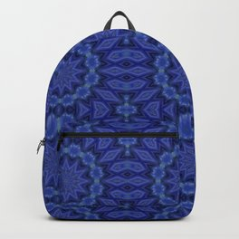 Lace in Blue Backpack