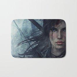 Wild Lara Croft Bath Mat