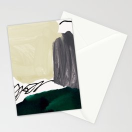 minimalist painting 03 Stationery Cards