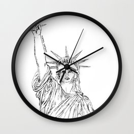 Freedom of Expression Wall Clock