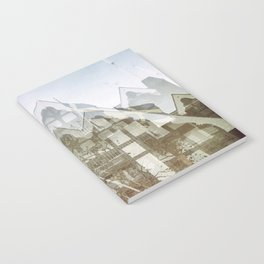 san francisco double exposure, gothic edit Notebook