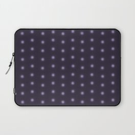 """Polka Dots Degraded & Purple shade of Grey"" Laptop Sleeve"