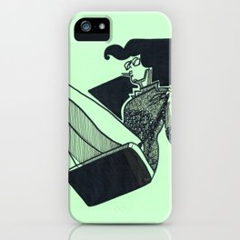 Persistent Swing iPhone Case