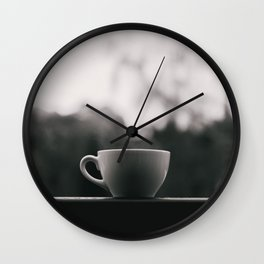 Pause | Nature & Landscape Photography Wall Clock