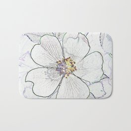 They call me the wild, wild rose Bath Mat