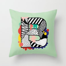 B for ... Throw Pillow