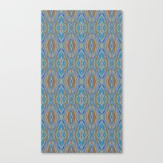 Liquid Ikat Canvas Print