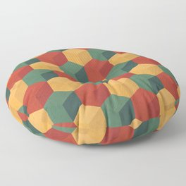 Retro Cubic Floor Pillow