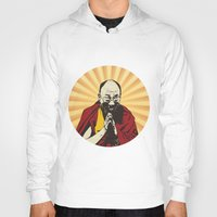 lama Hoodies featuring Dalai Lama by ArDem
