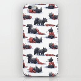 Wolf & Hoodie iPhone Skin