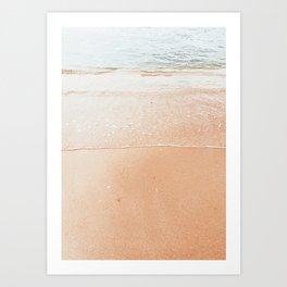 Sand Serenity Art Print