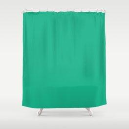 Fashion Green Shower Curtain