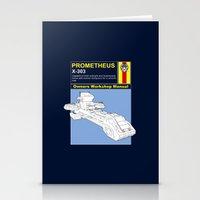 prometheus Stationery Cards featuring Prometheus  by Paul Elder