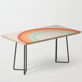 Vintage Rainbow Coffee Table