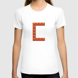"""Letter """"C"""" print in beautiful design Fashion Modern Style T-shirt"""