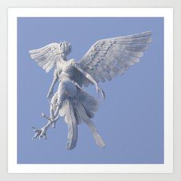 Syrenox the Siren Art Print