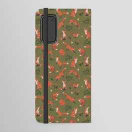 Fox Pattern (large) Android Wallet Case