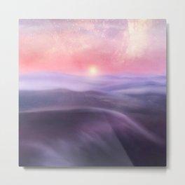 Minimal abstract landscape III Metal Print