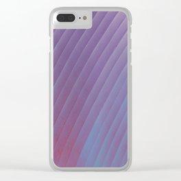 Plum Clear iPhone Case