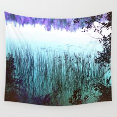 Reflective Tranquility Wall Tapestry