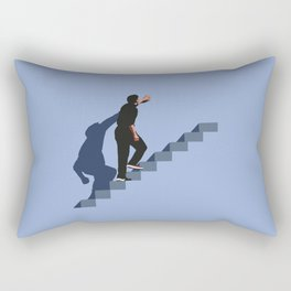 How's it going to end ? Rectangular Pillow