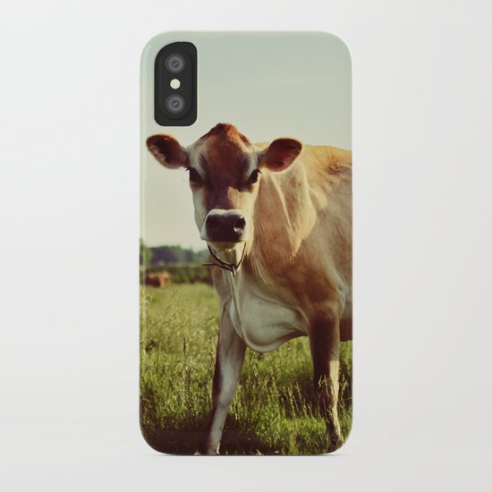 jersey cow iPhone Case