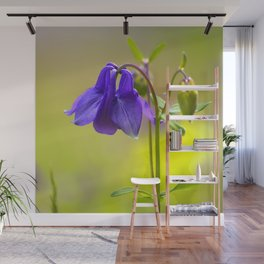 Purple Columbine In Spring Mood #decor #society6 #buyart Wall Mural