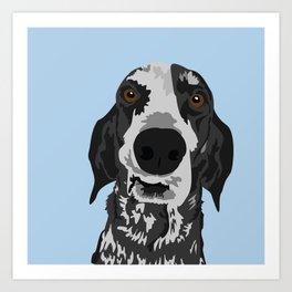 Reilly Head Art Print