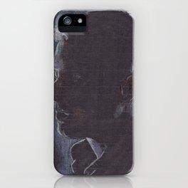John Watson - Colour on Black iPhone Case