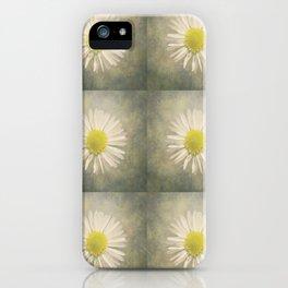 Daisy squares iPhone Case