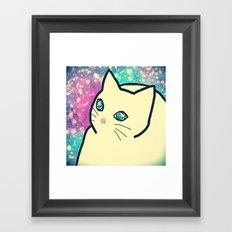 cat-214 Framed Art Print