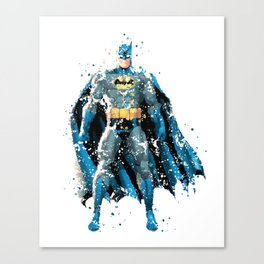 BAT-MAN SUPERHERO Canvas Print