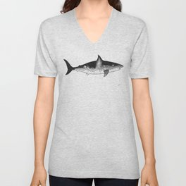 Sharks are life Unisex V-Neck