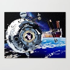Objects in Space Canvas Print