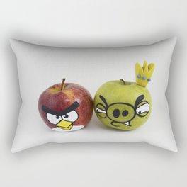 Angry Apples Rectangular Pillow