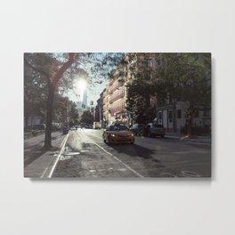 Manhattan Morning Metal Print