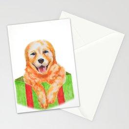 Christmas Retriever Stationery Cards