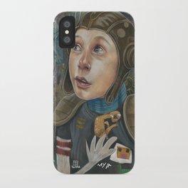 IMAGINARY ASTRONAUT iPhone Case