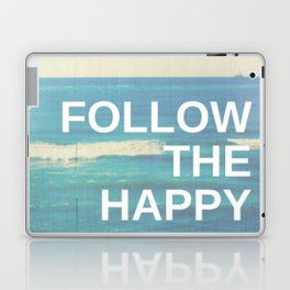 Follow the Happy Laptop & iPad Skin