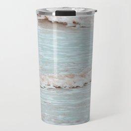 sea waves photography vintage colors Travel Mug
