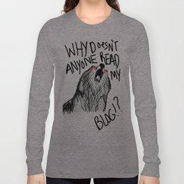 Hipster Bear Long Sleeve T-shirt