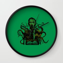 Fear The Unknown Wall Clock
