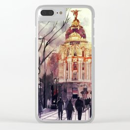 Madrid Clear iPhone Case