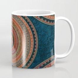 Earth Tone Colored Mandala Coffee Mug