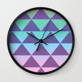 NEON beach Wall Clock